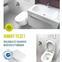 Perem nélküli wc+bidé egyben