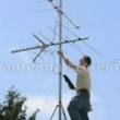 András Gyula - antennaszerelés