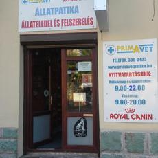 Primavet Állatpatika, Állateledel és Felszerelés