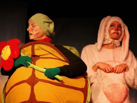 A teknős és a nyúl versenyfutása