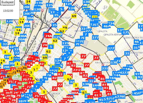 bkv busz térkép XV. kerület   Rákospalota, Pestújhely, Újpalota | Térképen